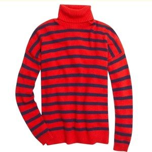 Madewell wool striped turtleneck